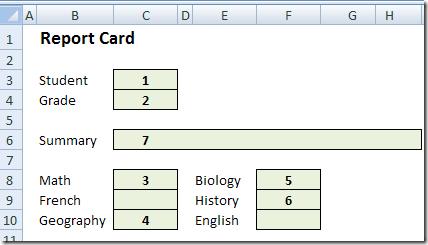 ReportCard01