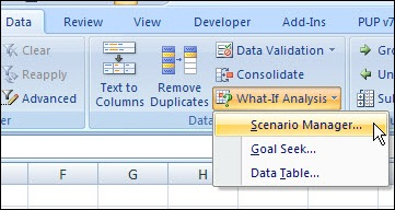 Excel Scenario