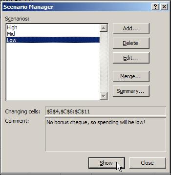Excel Scenario 05