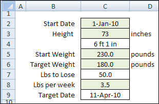 excel spreadsheet for weight loss percentage selo l ink co