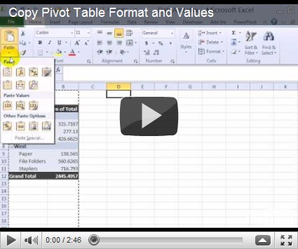 Copy Table Formatting Powerpoint Image Mag