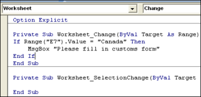 Excel VBA – Macro Runs When Worksheet Changed - Contextures Blog