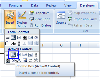 Combo Box Drop Down for Excel Worksheet - Contextures Blog