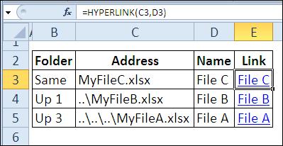30 Excel Functions in 30 Days: 28 – HYPERLINK - Contextures Blog