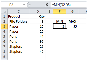 Finding Min If Or Max If In Excel Contextures Blog