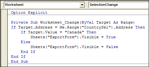 Hide Excel Sheet When Cell Changes - Contextures Blog