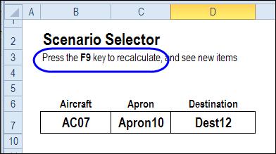 select random scenario