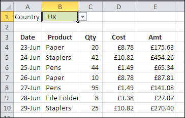 Conditional Formatting for Currency Symbol - Contextures Blog