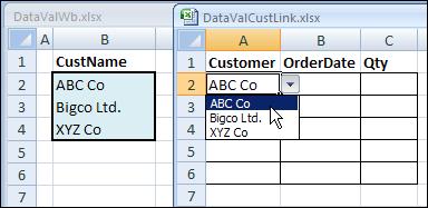 DataValListLinked