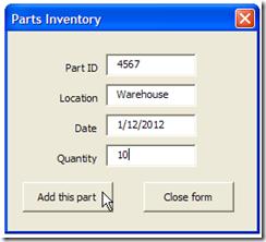 PartsInventoryUserForm01