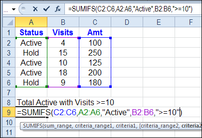 Gandalf S Notebook Excel Sumifs Sum With Multiple Criteria