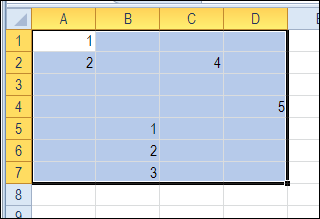 Select Actual Used Range in Excel Sheet - Contextures Blog