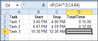 Excel Formula To Calculate Total Time Spent Calculating