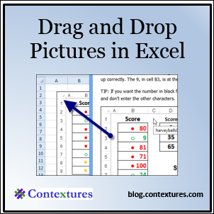 Drag and Drop Pictures in Excel  blog.contextures.com