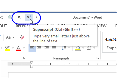 Change Characters to Superscript - Contextures Blog