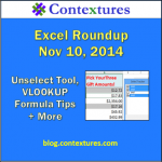 Excel Roundup 20141110