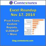 Excel Roundup 20141117
