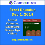 Excel Roundup 20141201