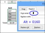 Remove hidden characters in Excel http://blog.contextures.com/