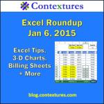 Excel Roundup 20150105