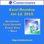 Excel Roundup 20150112