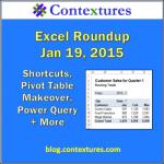 Excel Roundup 20150119