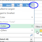 Delete Rows With Conditional Formatting Color