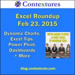 Excel Roundup 20150223