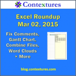 Excel Roundup 20150302