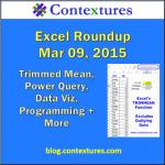 Excel Roundup 20150309