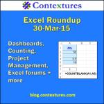 Excel Roundup 20150330