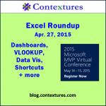 Excel Roundup 20150427