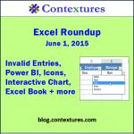 Excel Roundup 20150601