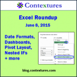 Excel Roundup 20150608