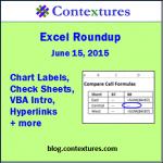 Excel Roundup 20150615