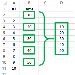 Copy just the numbers in Excel http://blog.contextures.com/
