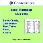 Excel Roundup 20150706
