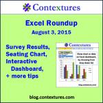 Excel Roundup 20150803