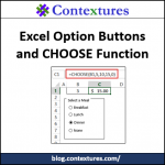 Option Button Scores With CHOOSE Function