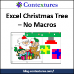 Excel Christmas Tree 2015