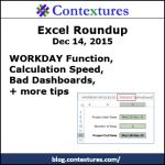 Excel Roundup 20151214