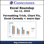 Excel Roundup 20160111