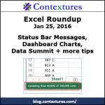 Excel Roundup 20160125