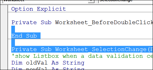 Change Excel VBA Code to Improve Speed - Contextures Blog