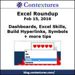 Excel Roundup 20160215