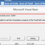 Macro to Remove Pivot Table Calculated Fields