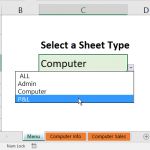 Show Specific Sheets in Excel