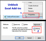 Fix disappearing Excel add-ins