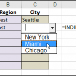 Dependent Combo Box in Excel