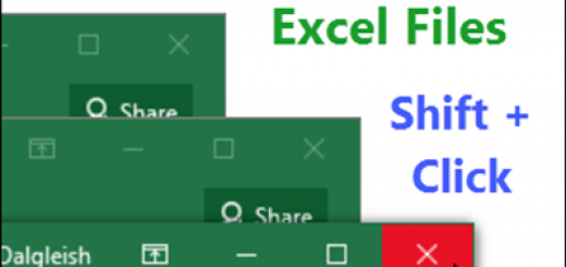 Close All Your Excel Files http://blog.contextures.com/